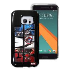 MARVEL漫威 HTC 10/M10 復仇者聯盟美國隊長3 彩繪軟殼(隊長)