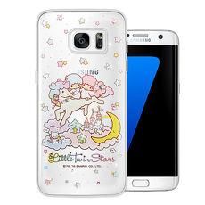 三麗鷗授權正版 雙子星仙子 KiKiLaLa Samsung Galaxy S7 水鑽系列軟式手機殼(飛馬樂園)