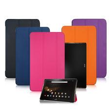 【VXTRA】宏碁 Acer Iconia Tab 10 A3-A40 經典皮紋超薄三折保護套 平板皮套
