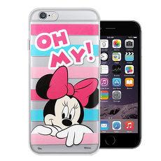 迪士尼授權正版 iPhone 6s / 6 4.7吋 大頭招呼系列軟式手機殼(米妮)