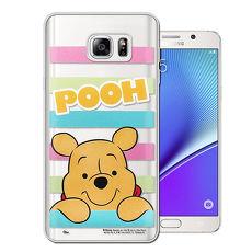 迪士尼授權正版 Samsung Galaxy S7 edge 5.5吋 大頭招呼系列軟式手機殼(維尼)