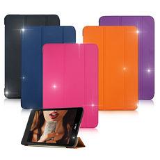 VXTRA ASUS ZenPad 3 8.0 Z581KL 8吋 經典皮紋超薄三折保護套 華碩平板專用