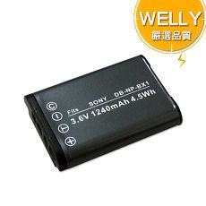 [副廠]WELLY SONY NP-BX1 / NPBX1 高容量防爆相機鋰電池 WX300 DSC-HX60V HX400V WX350 RX100III