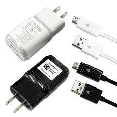 LG G4 G3 G2 5V原廠高速充電組(密封包裝):旅充頭+傳輸充電線 Micro USB白色(頭+線)