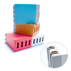 QLA 2.1A/4USB充电器/大电流旅充头/电源供应器
