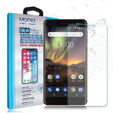 MONIA Nokia 6(2018) / Nokia 6.1 日本頂級疏水疏油9H鋼化玻璃膜 玻璃貼 保護貼