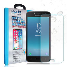 MONIA Samsung Galaxy J4 日本頂級疏水疏油9H鋼化玻璃膜 玻璃貼 保護貼