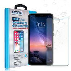 MONIA 紅米 Note 6 Pro 日本頂級疏水疏油9H鋼化玻璃膜 玻璃保護貼(非完全滿版)