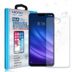 MONIA 小米8 Lite 日本頂級疏水疏油9H鋼化玻璃膜 玻璃保護貼(非完全滿版)