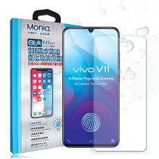 MONIA Vivo V11/V11i 日本頂級疏水疏油9H鋼化玻璃膜 玻璃保護貼