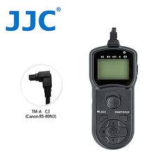 JJC TM-A 液晶定時快門線 C3(相容Canon RS-80N3)