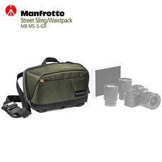 Manfrotto 街頭玩家微單眼斜肩包 Street CSC Sling Bag D11-MAN-MBMS-S-GR