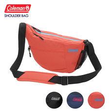 Coleman 側背包 Camera Shoulder Bag粉橘