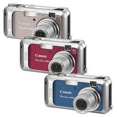 Canon Powershot A460 數位相機紅
