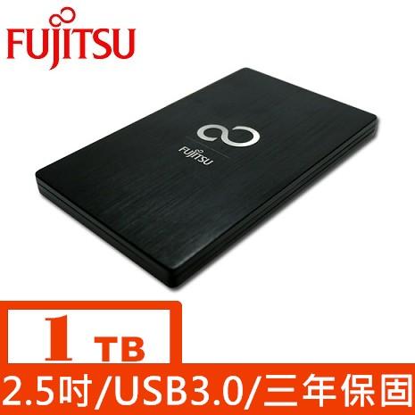 Fujitsu 2.5吋1TB 行動硬碟(尊爵黑)