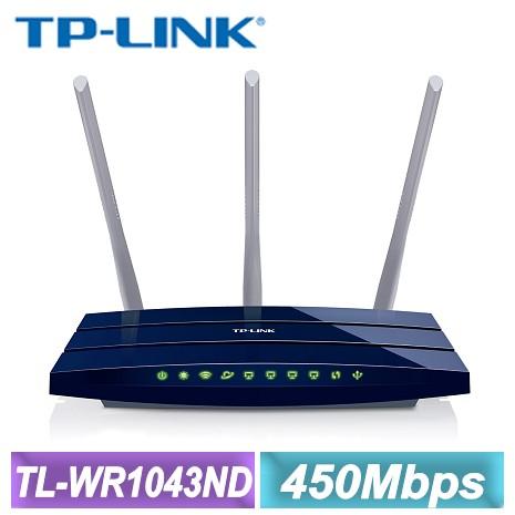 TP-LINK TL-WR1043ND V2 Gigabit 路由器