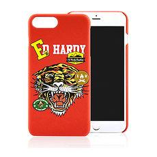 Ed Hardy 【 iPhone 7PLUS/8PLUS 】5.5吋 趣味老虎 經典圖騰 霧面 保護殼 硬殼 背蓋