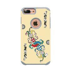 apbs x Mb 【 iPhone XR 】6.1吋 施華洛世奇 防摔 二合一 鑽殼-撲克鬼牌