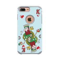 apbs x Mb 專屬款【 iPhone Xs Max 】6.5吋 施華洛世奇 防摔 二合一 鑽殼 撲克老K