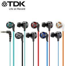 TDK 超‧重‧低‧音 耳道式耳機 CLEF- X2紅色