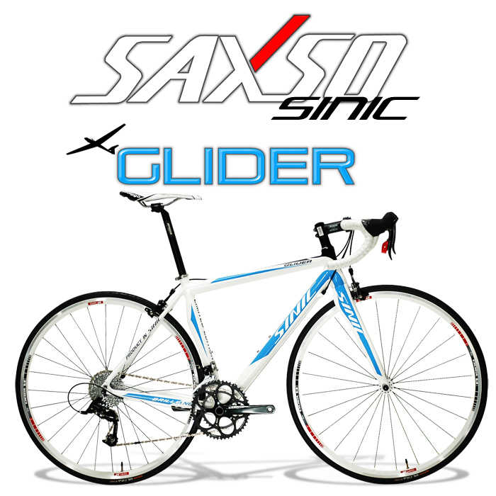 SAXSO SINIC Glider 專業級20S標準公路車(藍白)