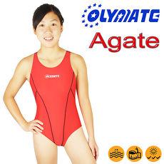 OLYMATE Agate 專業運動版女性泳裝L