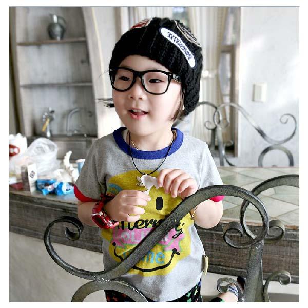 魔法Baby ~韓版短袖潮T~童裝~男女童裝~時尚設計童裝~k18998
