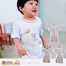 (2件85折)魔法Baby~百貨專櫃正品~LOU&DIER~居家稚嫩小豬套裝2件組(k28492粉.黃各1)~男女童裝