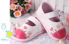 魔法Baby ~KUKI 酷奇可愛小花透氣寶寶鞋☆女童鞋☆s2705~時尚設計童鞋