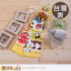 魔法Baby~台灣製正版海綿寶寶吊環擦手巾~C0102
