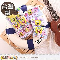 男童內褲 台灣製海綿寶寶正版純棉三角內褲六件一組 魔法Baby k50209m