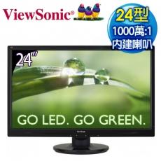 ViewSonic 優派 VA2445M 24型 Full HD 超高畫質LED螢幕