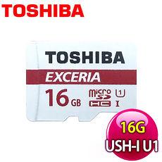 Toshiba 東芝 16GB Micro SDHC UHS-I U1 90MB記憶卡《附轉卡》