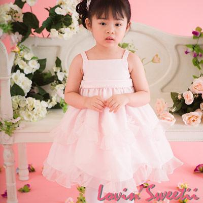 【Lovin` Sweetii】精緻小公主童洋裝~粉紅限量款~2Y