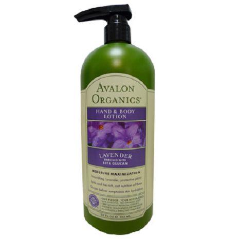 Avalon 愛芙蓉有機薰衣草潤膚乳液(家庭號)950ml