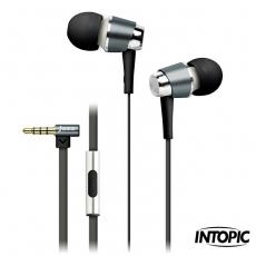 INTOPIC 廣鼎-全功能型鋁合金耳機麥克風 JAZZ-I59時尚白