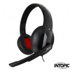 【INTOPIC】頭戴式耳機麥克風 JAZZ-380
