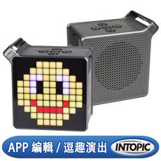 (APP搶購)INTOPIC 廣鼎 LED無線喇叭(SP-HM-BT190)