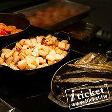 高雄國賓飯店-I RIVER 愛河牛排海鮮自助餐廳平日自助午餐券【一套四張】