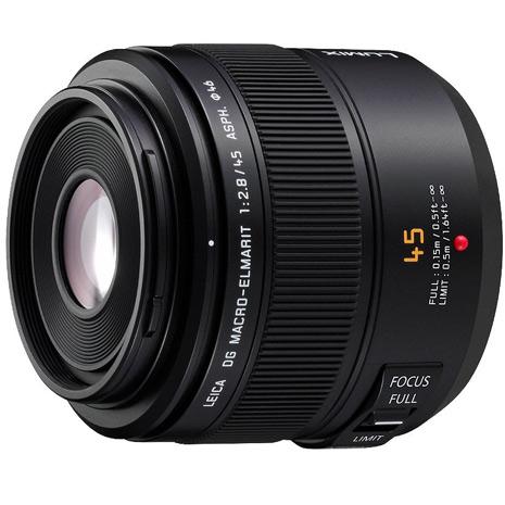 結帳再92折-(公司貨)Panasonic LEICA DG MACRO-ELMARIT 45mm F2.8 ASPH. MEGA O.I.S. 微距鏡頭-保護鏡