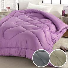 【ceres席瑞絲】吸濕排汗超細纖維科技羽絲絨被2.0kg/三色任選(B0805)(破盤出清)迷戀紫