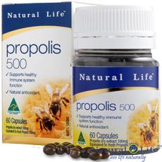 澳洲Natural Life蜂膠膠囊500mg(60顆)