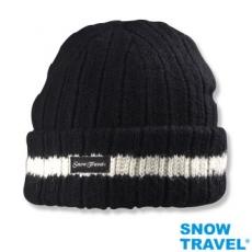 【SNOW TRAVEL】3M男女高級美麗諾85%羊毛帽AR-18(任選1頂)反摺橫條款式