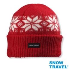 【SNOW TRAVEL】3M男女高級美麗諾85%羊毛帽AR-18(任選1頂)雪花摺邊款式