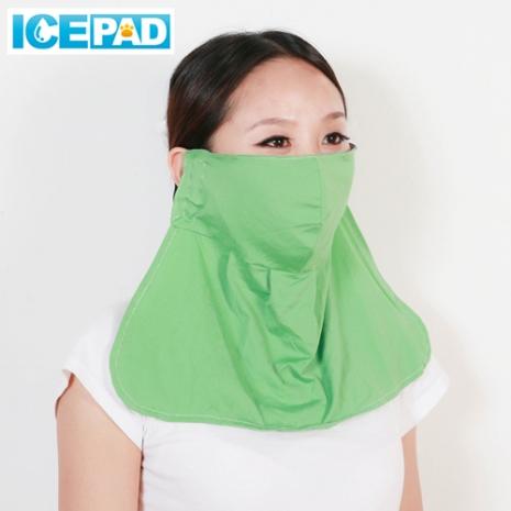 【ICE PAD】激涼感防曬口罩2入-四色任選