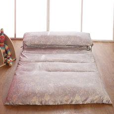 【契斯特】夏日凉感天丝绑带日式床垫-特大7尺-五色可选(APP限定)