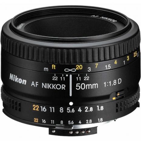 NIKON AF 50mm/1.8D(國祥公司貨)