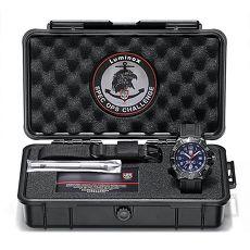 LUMINOX 雷明時 特種部隊限量工具箱禮盒組-藍x灰時標/45mm 4223.SOC.SET