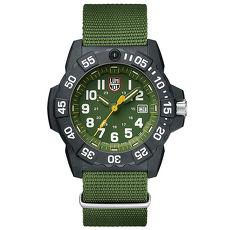 LUMINOX 雷明時NAVY SEAL 3500全新海豹2代系列腕錶-軍綠/45mm A3517