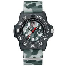 LUMINOX 雷明時NAVY SEAL 3500全新海豹2代系列腕錶-迷彩灰/45mm A3507PH